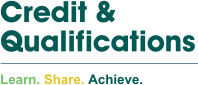 Credit & Qualifications